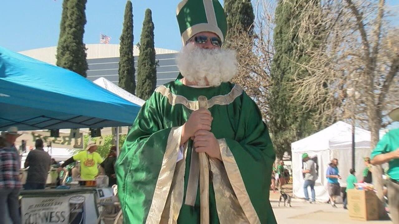 St. Patrick's Day Parade, Festival tomorrow