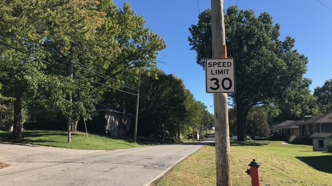 KCMO neighborhood outraged over speeders