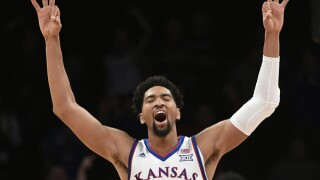 Behind two double-doubles, Dedric Lawson takes home Big 12 Player of the Week award