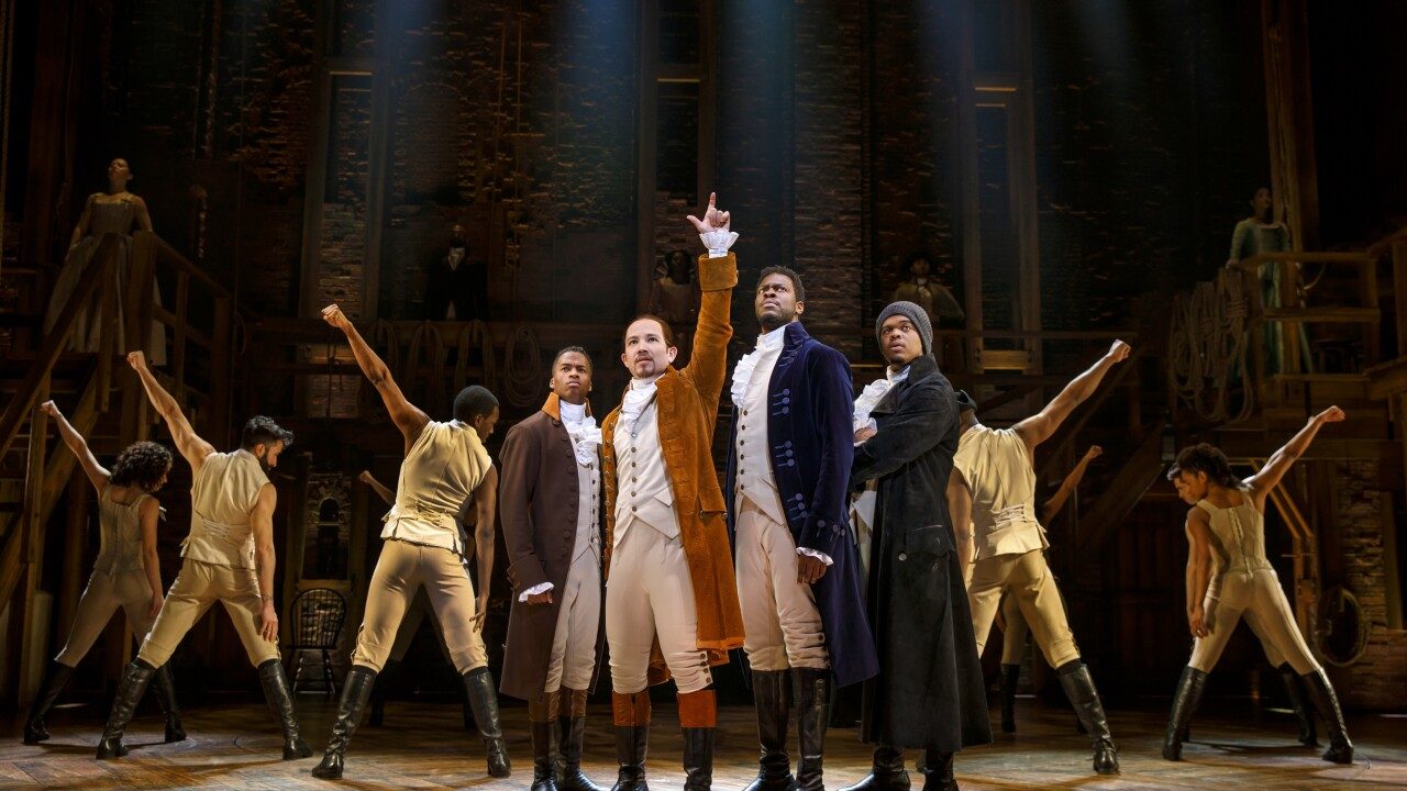 HAMILTON coming to Richmond in November with 24 shows