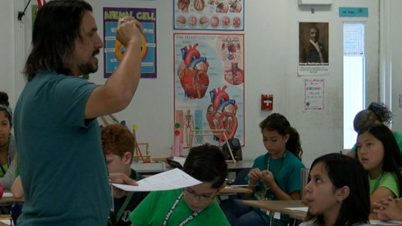 Teacher who donates kidney to young man nominated for national award