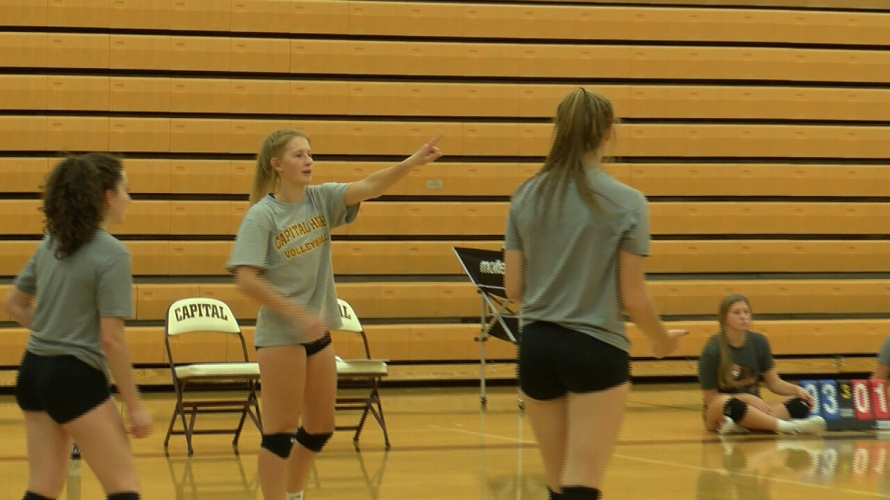 Capital Volleyball takes aim at third straight state title
