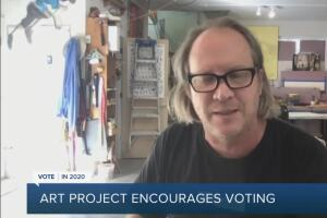 APSU professor's art project aims to inspire people to vote