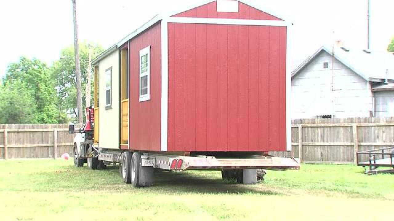 PHOTOS: Tiny houses for Muncie's homeless