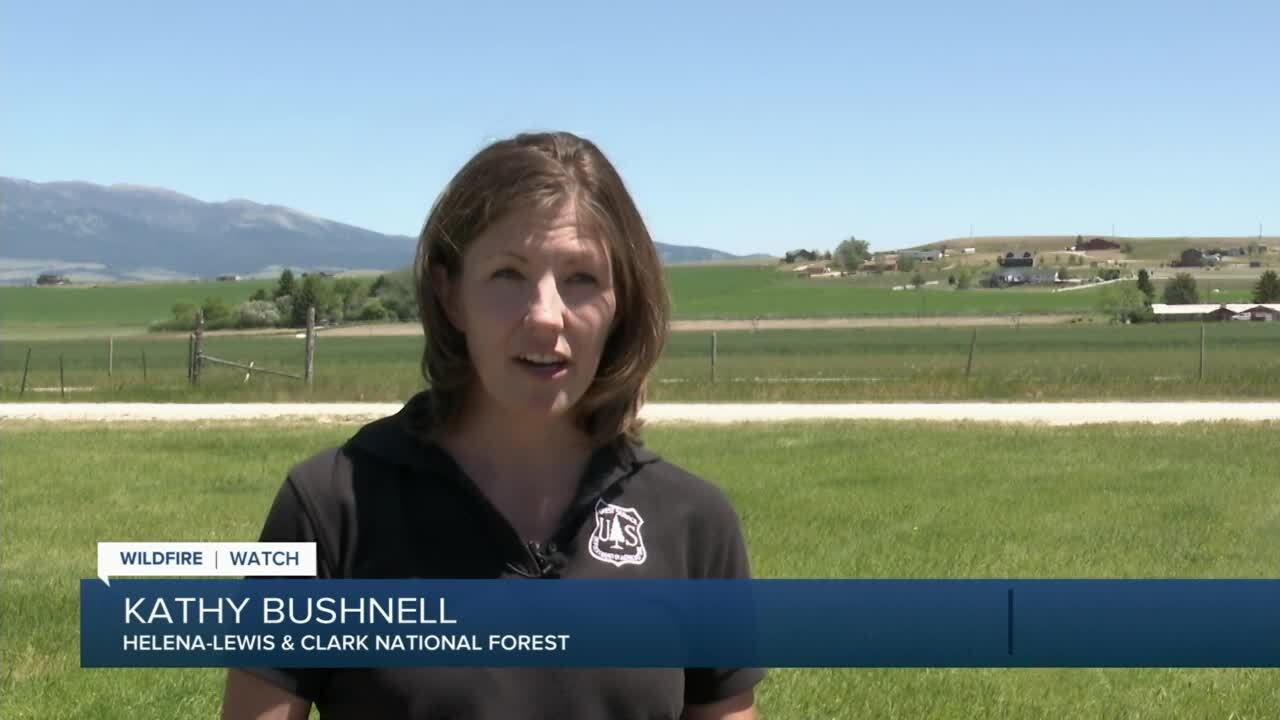 Kathy Bushnell of the Helena-Lewis & Clark National Forest