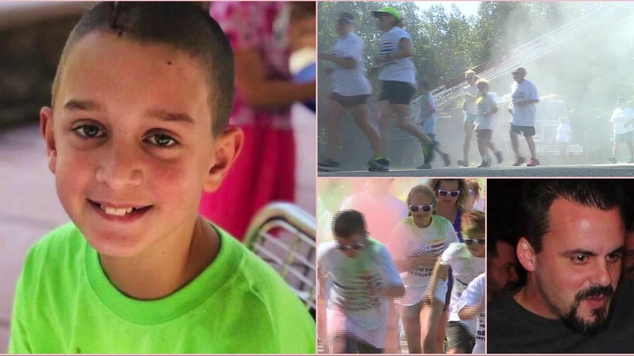 Be Like Mike run benefits boy battling brain tumor to 'pay itforward'