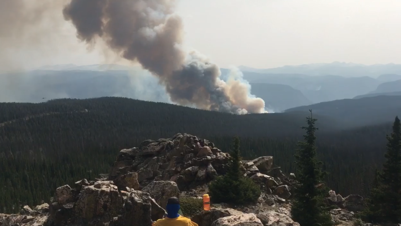 Firefighters making 'excellent progress' at Cameron Peak Fire ahead of more ideal conditions