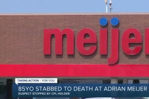 85-year-old stabbed to death at Adrian Meijer