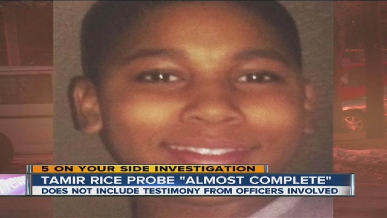 Cops in Tamir's death have not been interviewed
