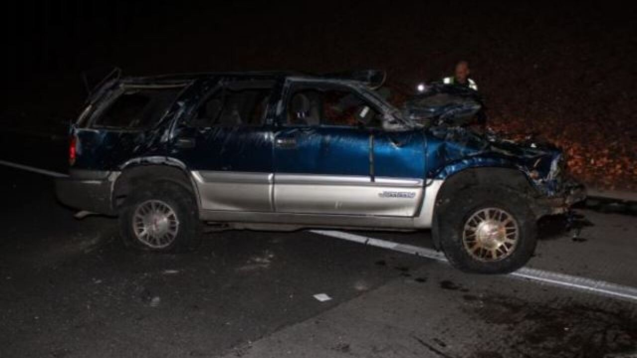 Woman killed in weekend rollover crash