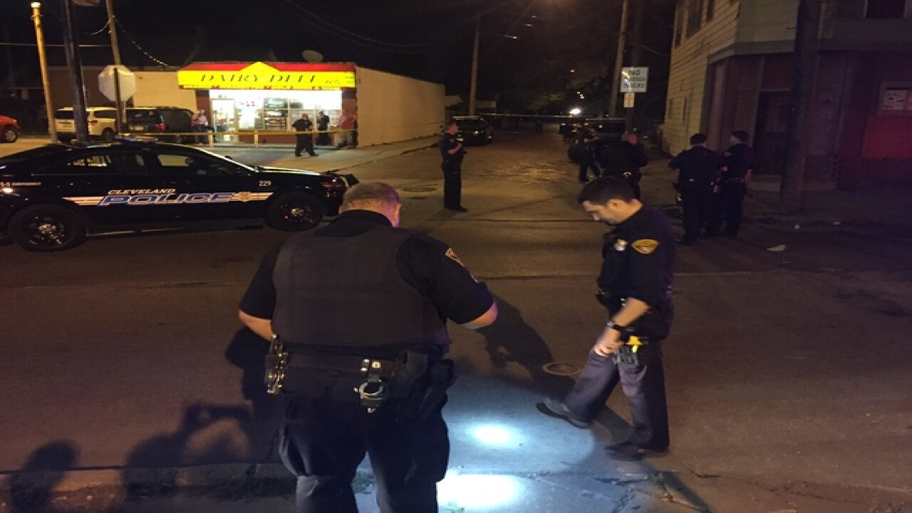 Two people shot during robbery at barbershop