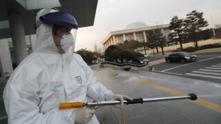 South Korea Virus Outbreak