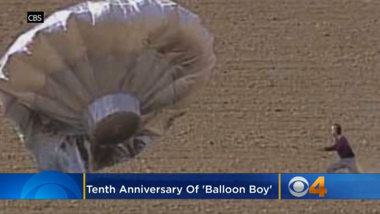 10 years ago today, the 'balloon boy hoax' captivated America