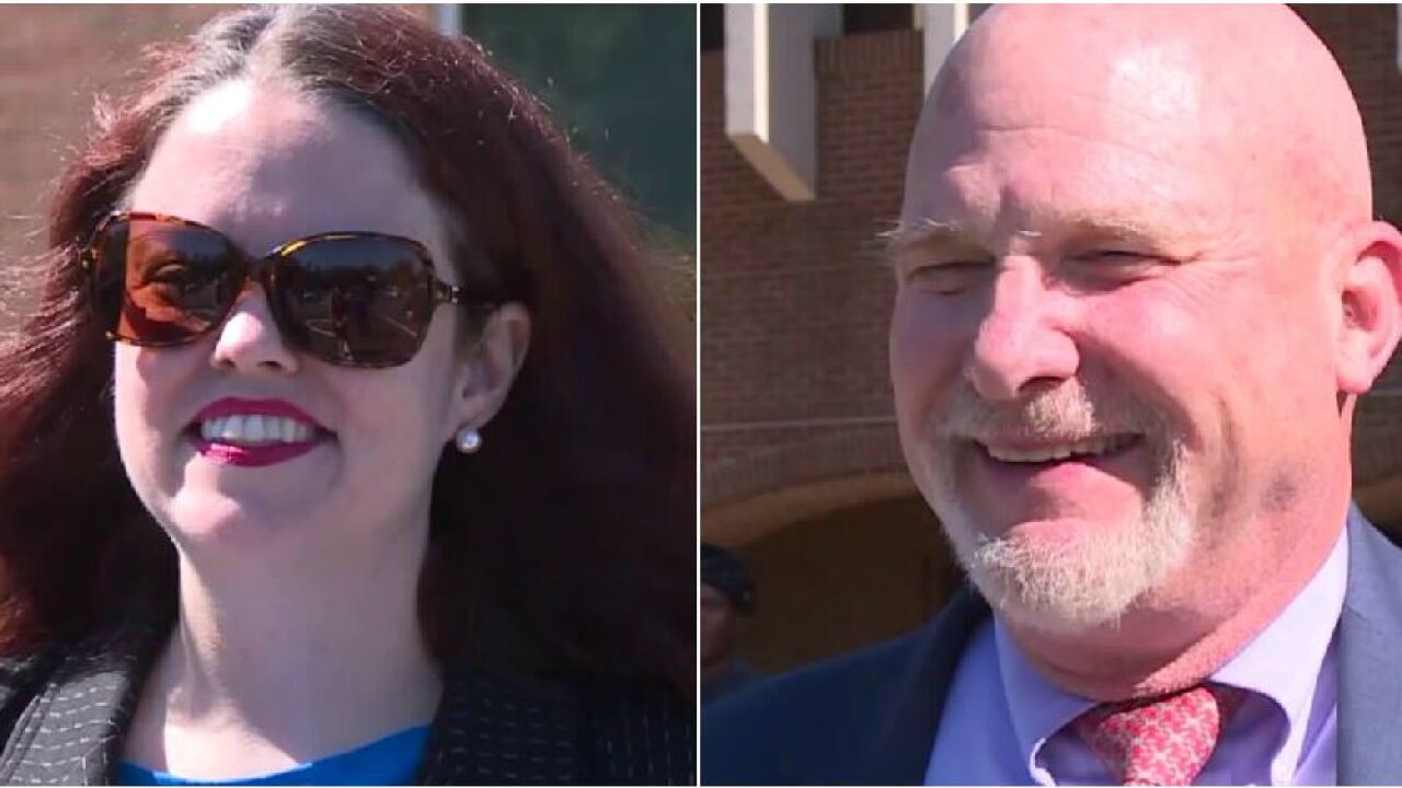 Powell and Pohl face-off in Virginia's 11th Senate districtprimary