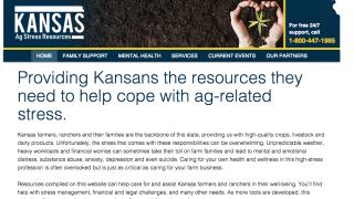 Kansas Department of Ag farmers website