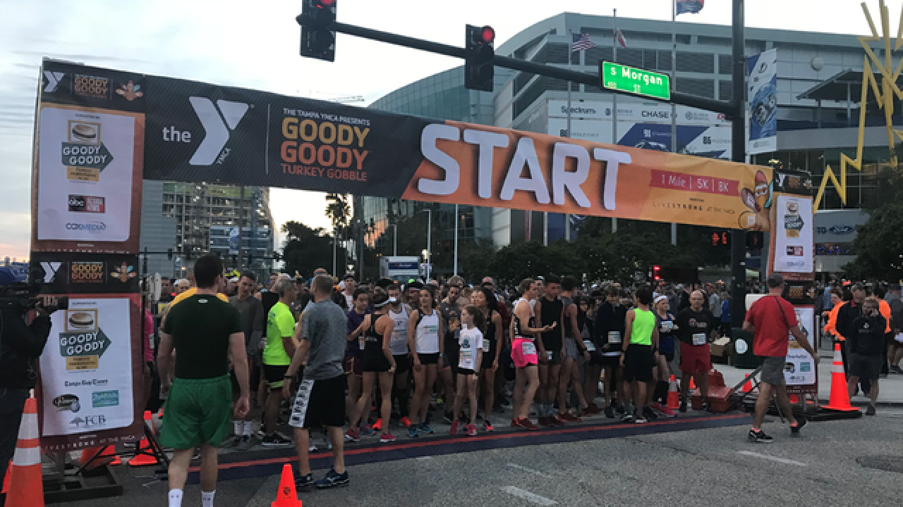 Thousands to run Goody Goody Turkey Gobble race