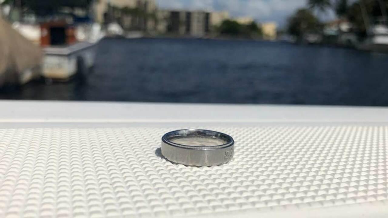 Man's wedding band found in Lake Boca Raton