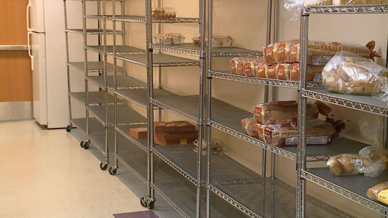 Salvation Army bread line