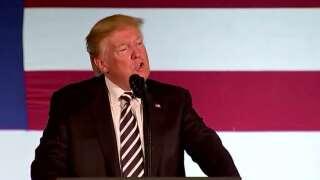 Trump rally moved to Minuteman hangar