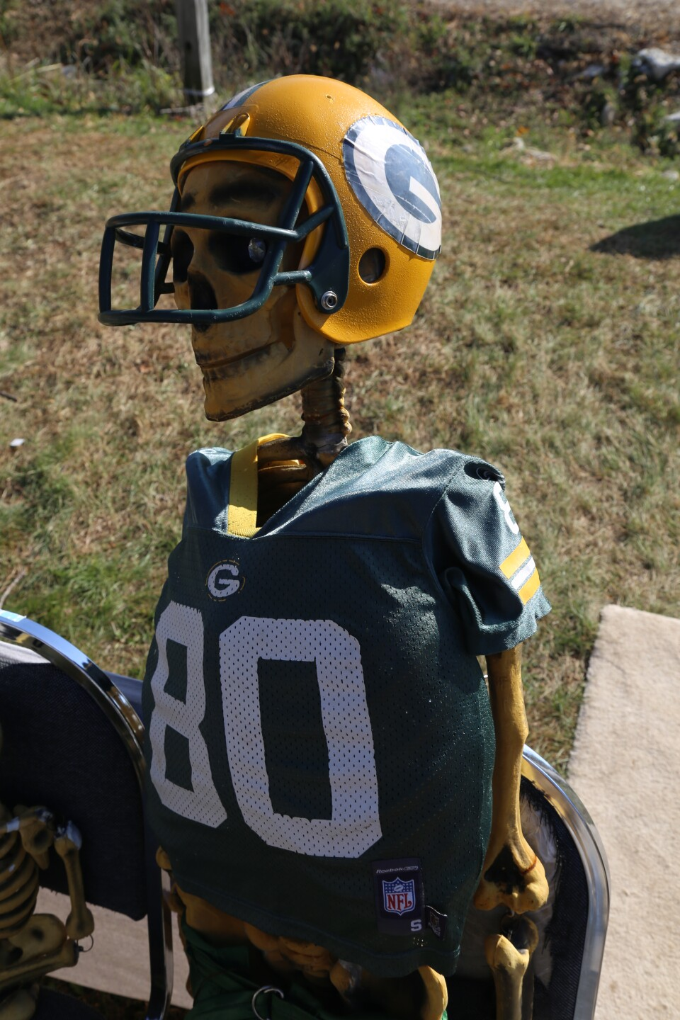 Donald Driver The Skeleton