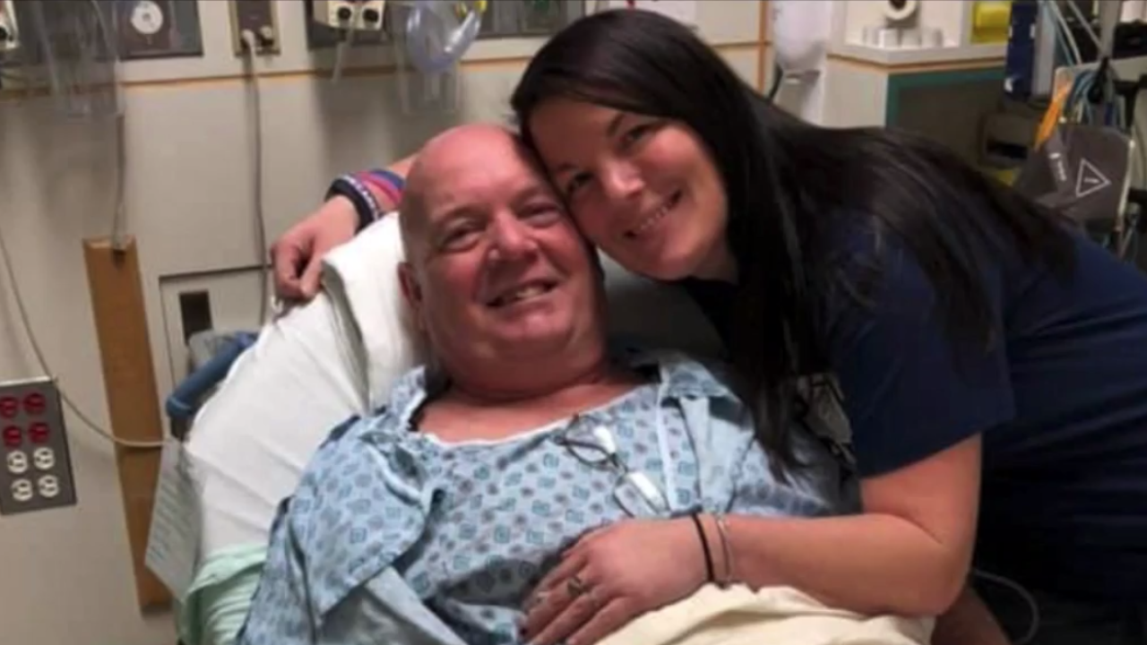 Daughter fights back after her father was denied life-saving brain surgery