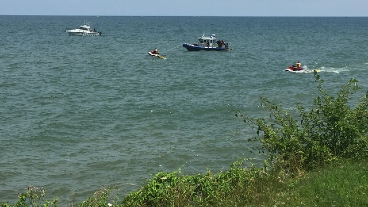 Coast Guard searching for person in Lake Erie