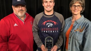 Collins Wins High School SportsZone Player of the Year