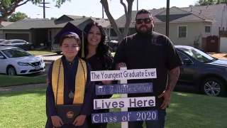 13-year-old boy becomes youngest graduate of Fullerton College in California