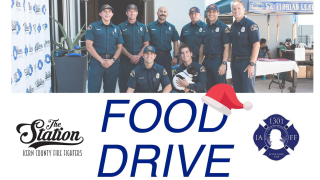 The Station Food Drive