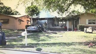 Holiday family's home destroyed by fire