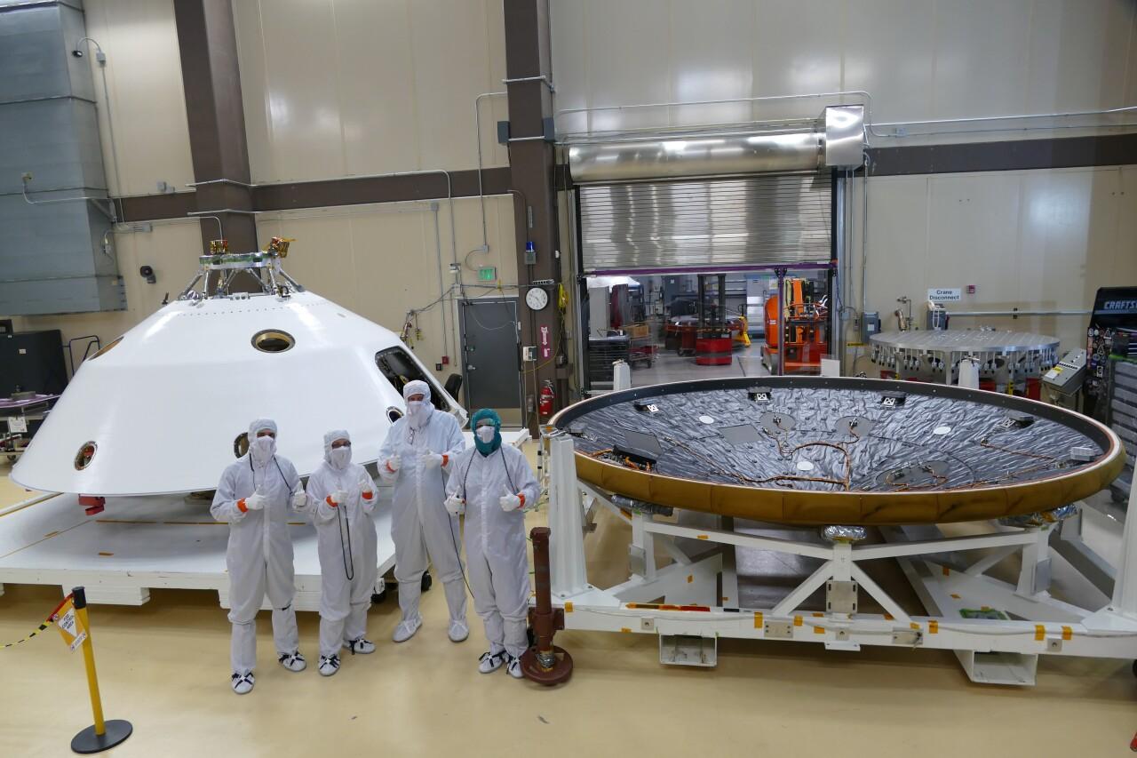 Mars 2020 sensor suite