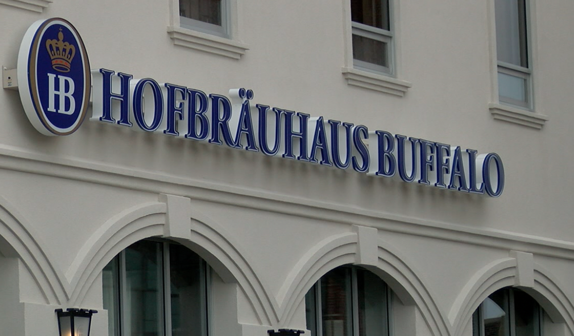 Hofbrauhaus buffalo is open now for outdoor dining