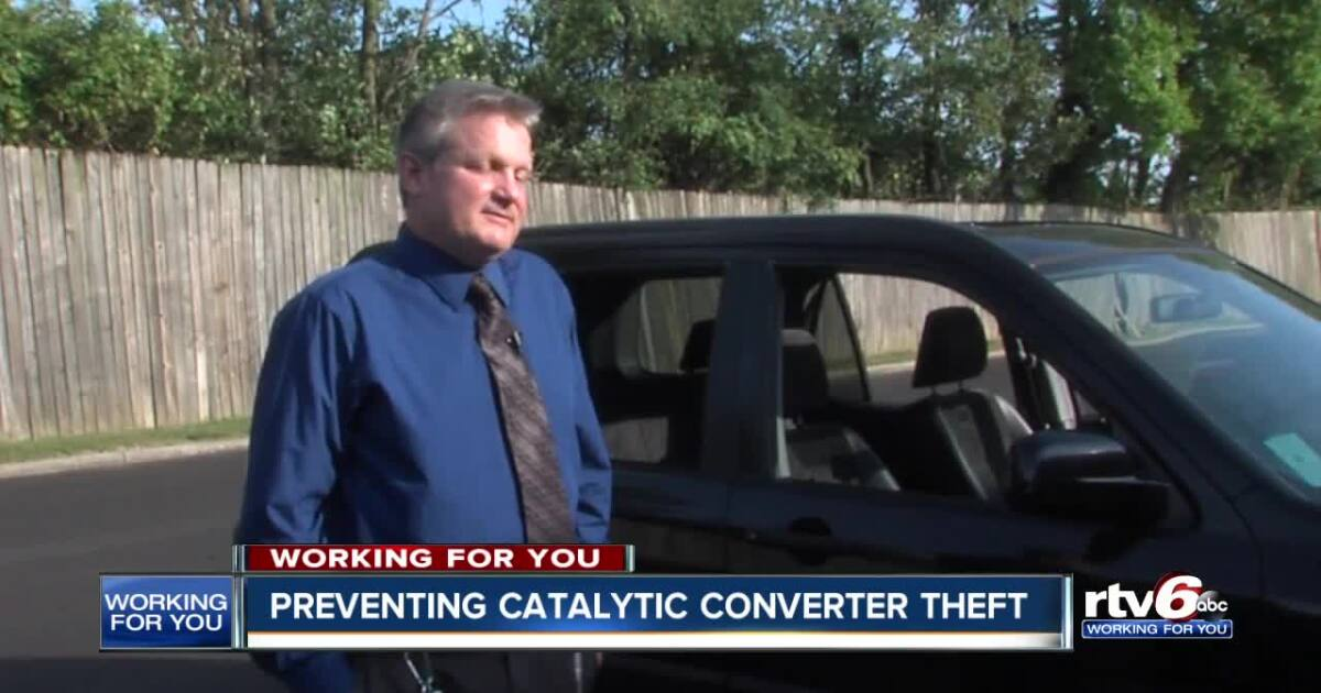 Steps you can take to prevent catalytic converter theft