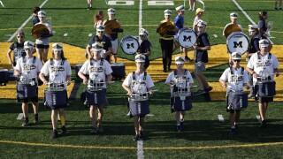 Sept 11 Michigan Marching Band