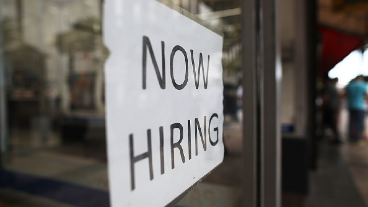 Virginia's unemployment rate drops to 2.8%