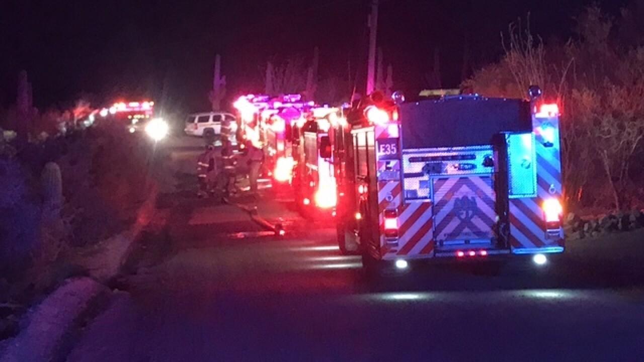 Northwest Fire crews battle house fire