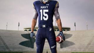 Photos: Navy unveils incredible uniforms for Army/Navy footballgame