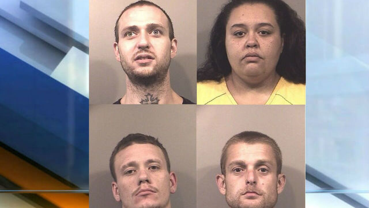 4 people arrested in conspiracy to smuggle drugs into jail