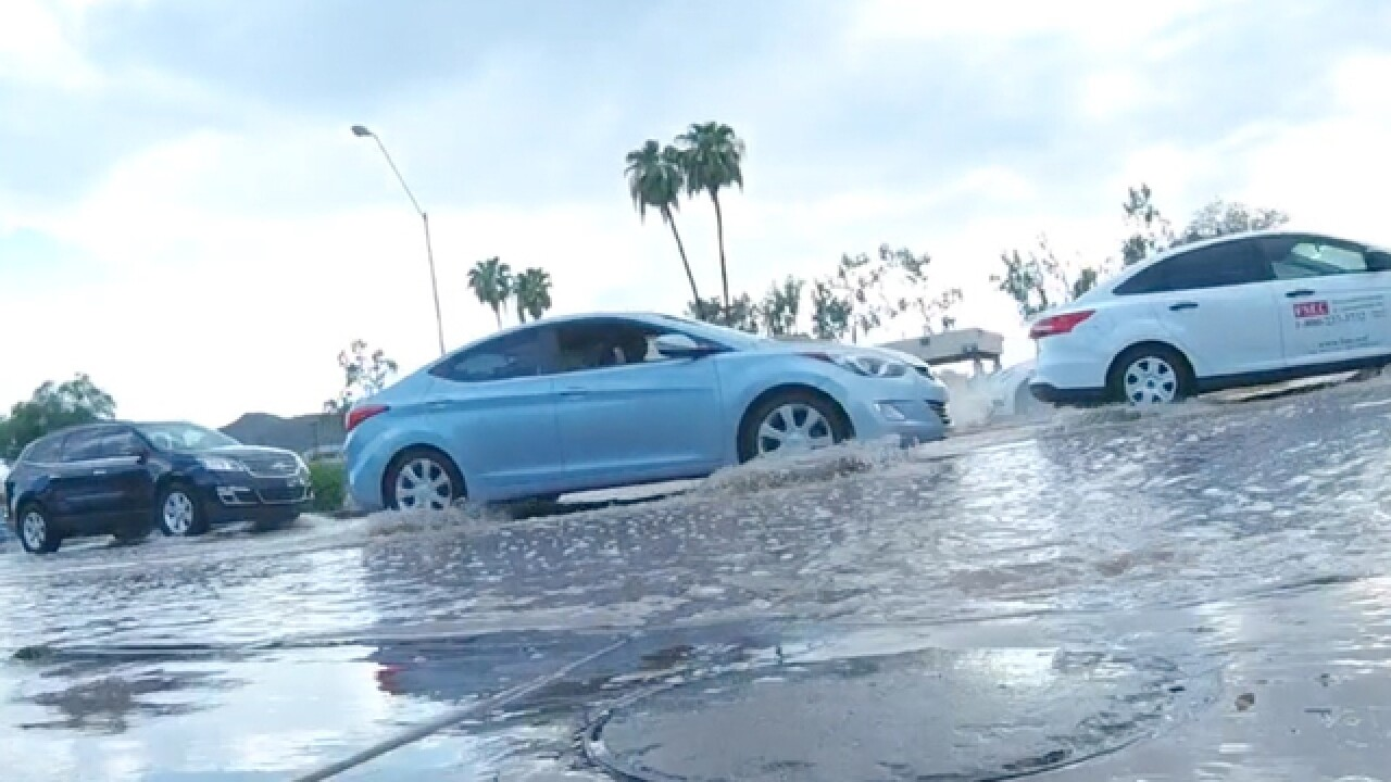 Why does the Desert Southwest flood so easily?