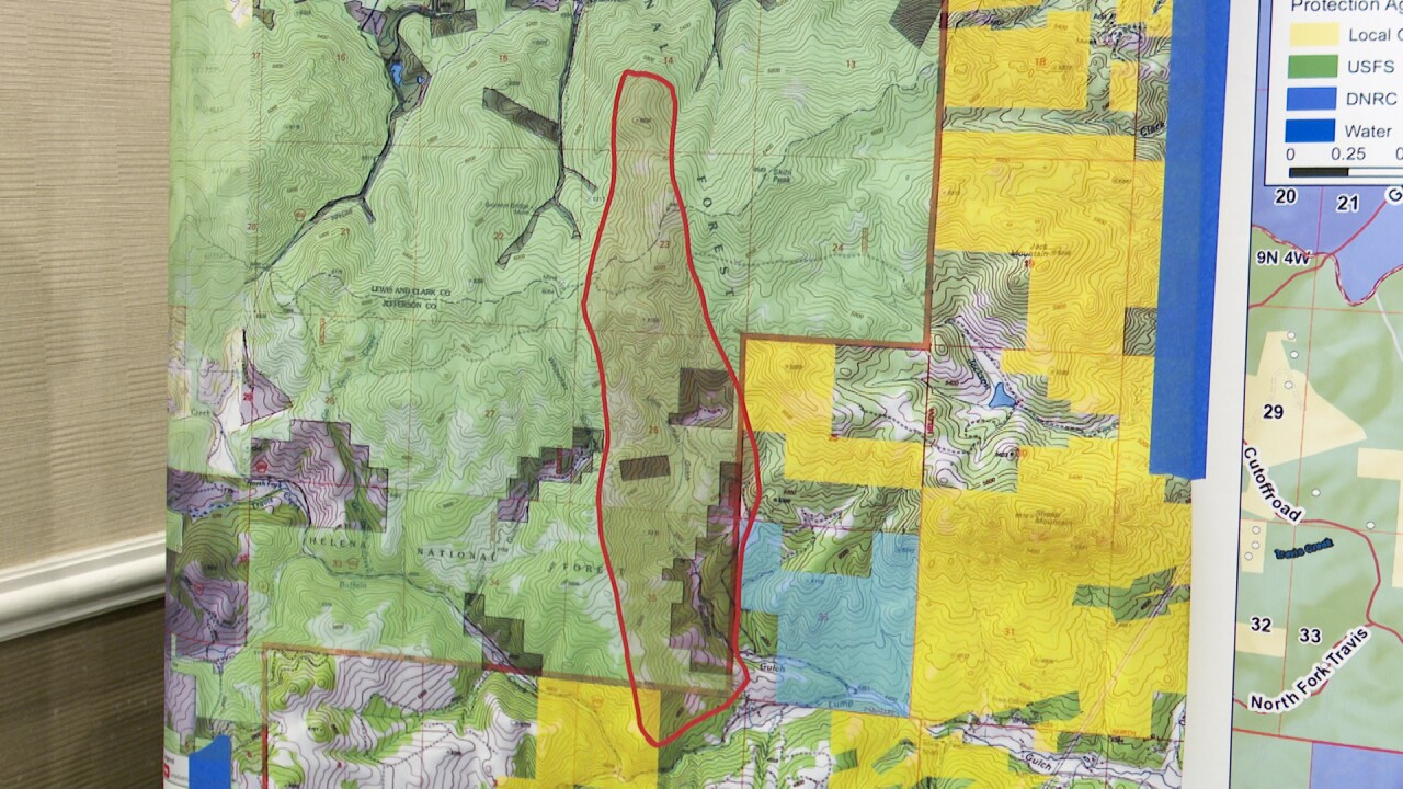 Lump Gulch Fire 35% contained