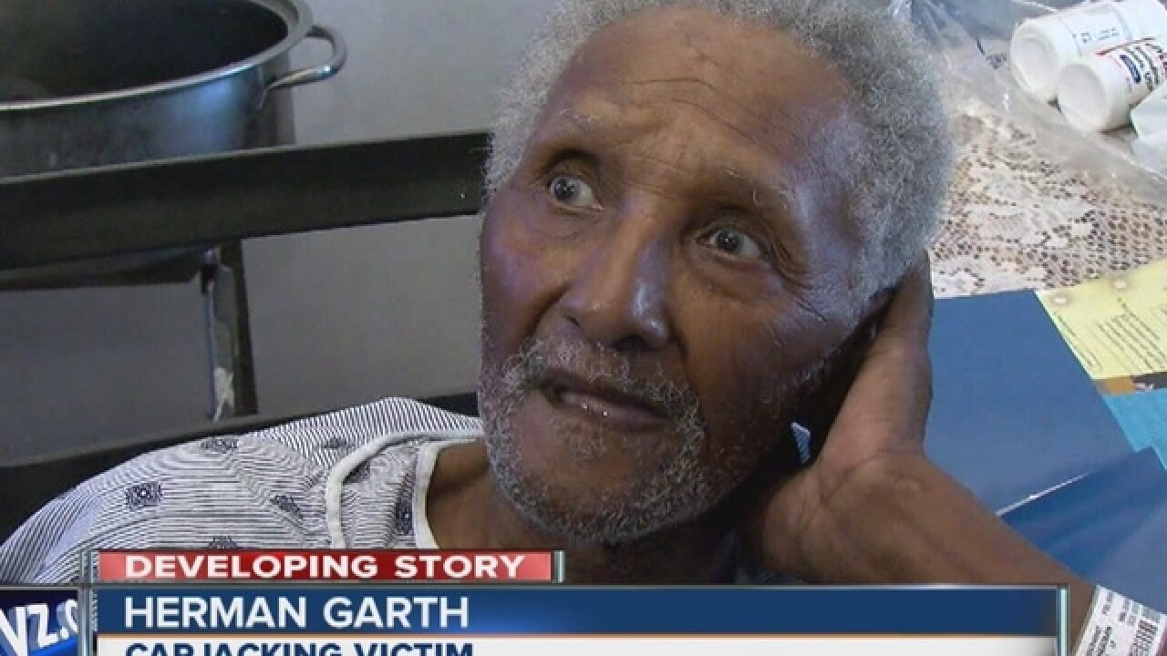 LIVE: Man arraigned in carjacking of 81 y.o.