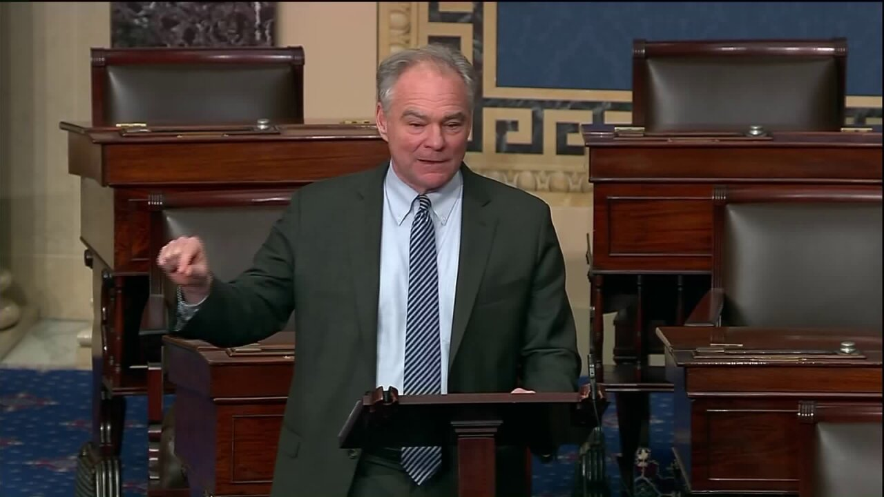 As tensions with Iran escalate, Senator Kaine renews push for war powers resolution
