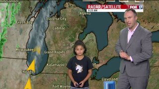 Congrats to July's Weather Kid, Aniyah