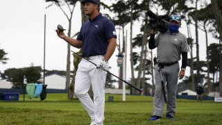 Bulked-up DeChambeau breaks driver at PGA Championship