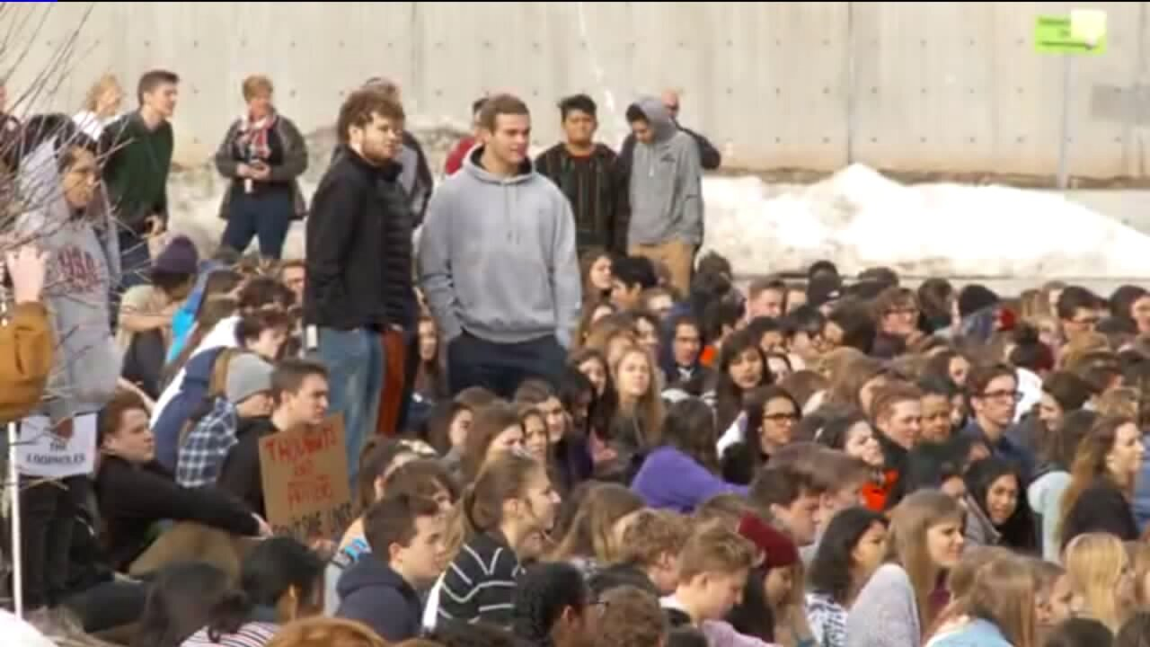 Utah students join nationwide walkout in protest of gunviolence