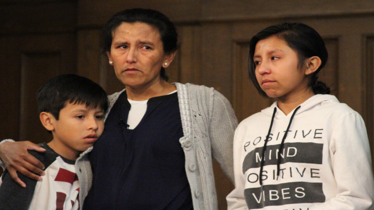 Undocumented mother of 3 granted stay of removal