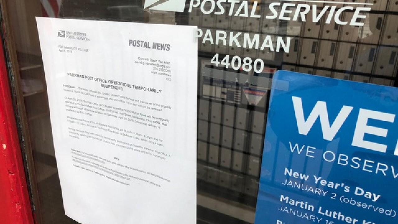 Final days for small town NEO postal office