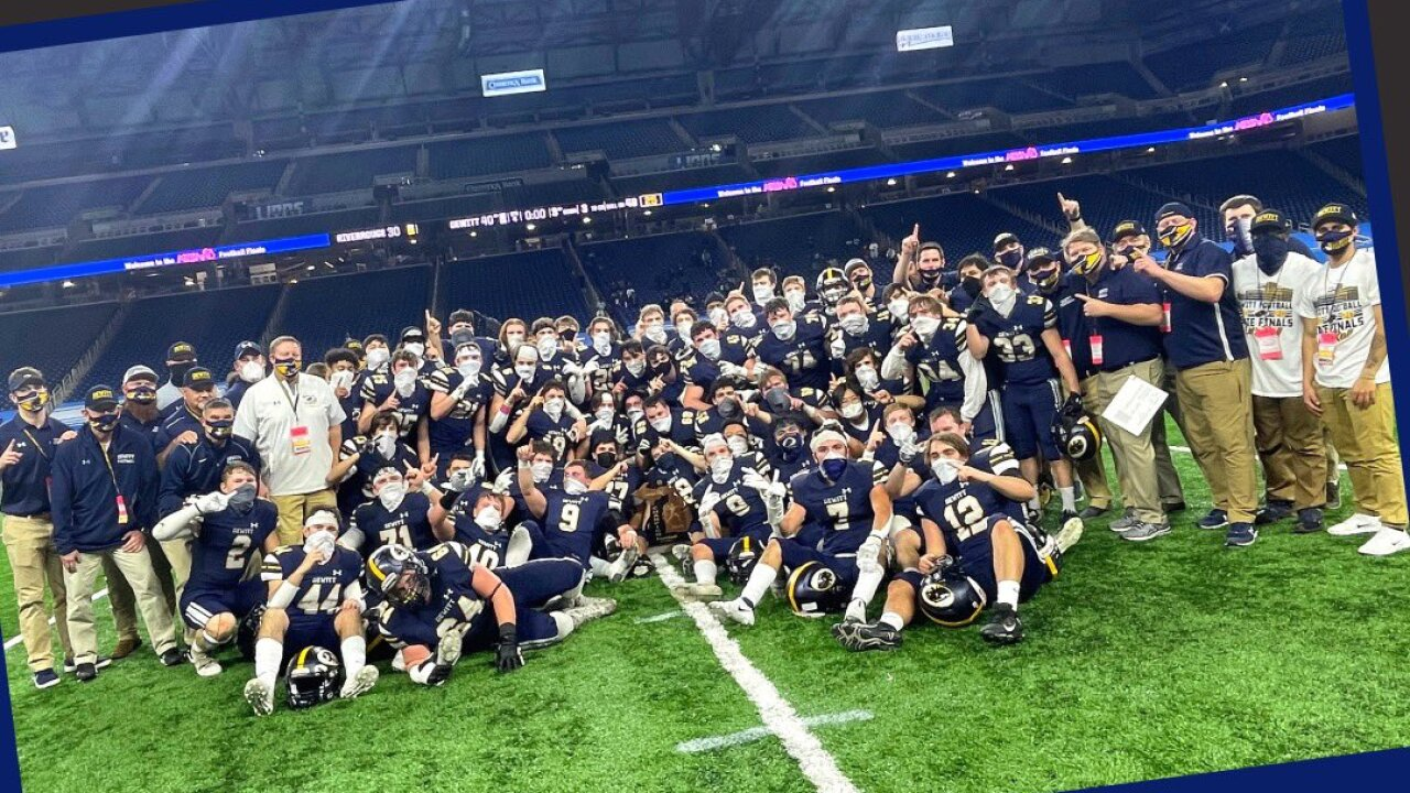 DeWitt High School Football Championship