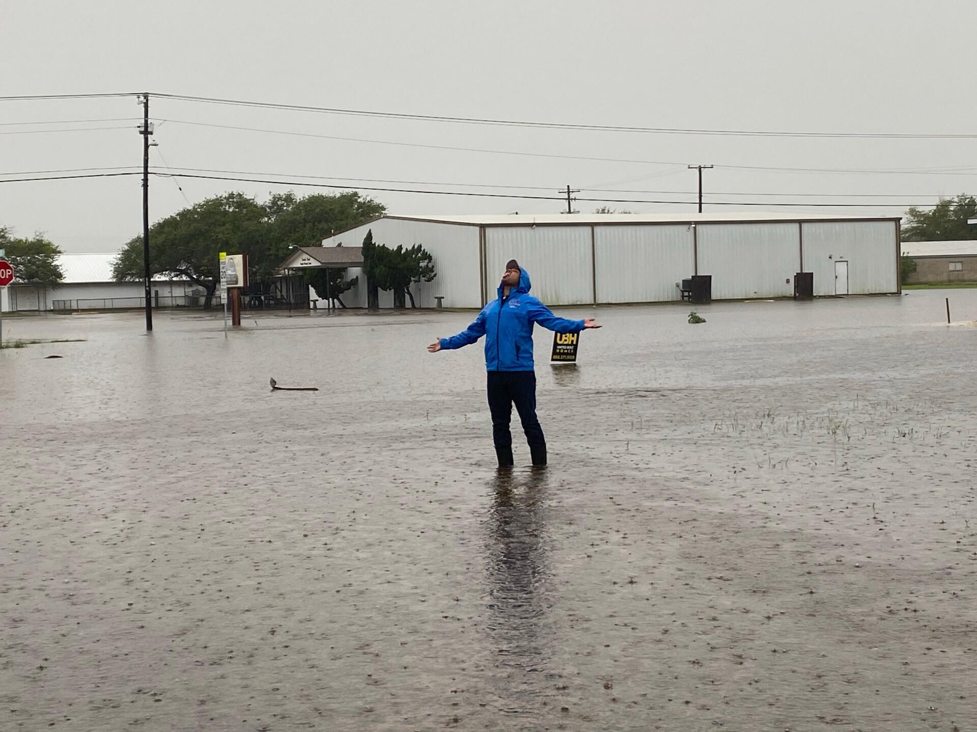 Jeremiah Marshall rain coverage