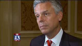 Huntsman's tough talk for GOP ontaxes